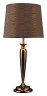 Dimond D1609 Logan 28 Inch Tall Coffee Plated Transitional Table Light