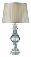 Dimond D1812 Donaldson 31 Inch Tall Clear Crystal Living Room Table Lamp
