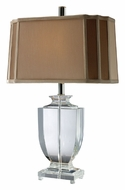 Dimond D1814 Layfette 25 Inch Tall Clear Table Lamp Lighting