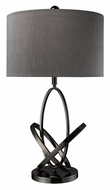 Dimond D1874 Kinetic Black Nickel Living Room Table Lamp - 29 Inches Tall