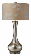 Dimond D1883 Orion Mercury Blown Glass 34 Inch Tall Living Room Table Lamp
