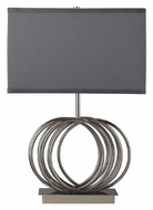Dimond D2057 Ekersall Chrome Finish Contemporary 22 Inch Tall Table Lighting