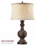 Dimond D2240 Arden 29 Inch Tall Transitional Style Dark Oak Table Lamp