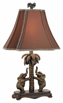 Dimond D2475 Adamslane Bridgetown Bronze Finish 24  Tall Side Table Lamp