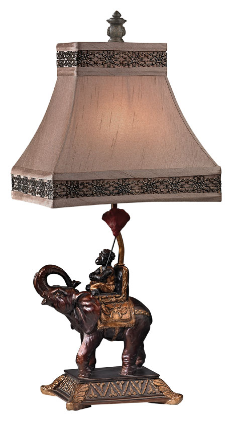 Dimond D2476 Alanbrook Brasilia Bronze Finish 11 Wide Table Lamp