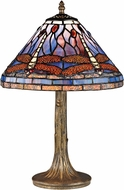 Dimond D2543 Dragonfly Tiffany Dark Bronze Table Light