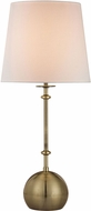 Dimond D2740-LED Contemporary Antique Brass LED Table Lamp