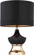 Dimond D2755-LED Contemporary Black / Gold LED Table Lamp Lighting