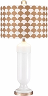 Dimond D2759 Modern Gloss White / Gold Table Lamp