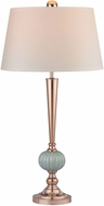 Dimond D2761-LED Contemporary Mint / Gold LED Table Top Lamp