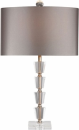 Dimond D2763-LED Clear / Gold LED Table Lamp