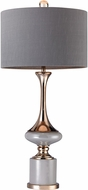 Dimond D2764 Modern Grey / Gold Table Light