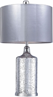 Dimond D2773-LED Contemporary Antique Silver LED Table Lamp Lighting