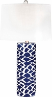 Dimond D2792-LED Contemporary Navy Blue / White LED Lighting Table Lamp