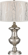 Dimond D2830 Polished Nickel Table Lamp