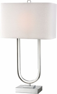 Dimond D2832-LED Contemporary Polished Nickel LED Table Top Lamp