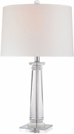Dimond D2843-LED Clear Crystal   LED Table Top Lamp