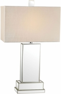 Dimond D2859-LED Contemporary Mirror LED Side Table Lamp