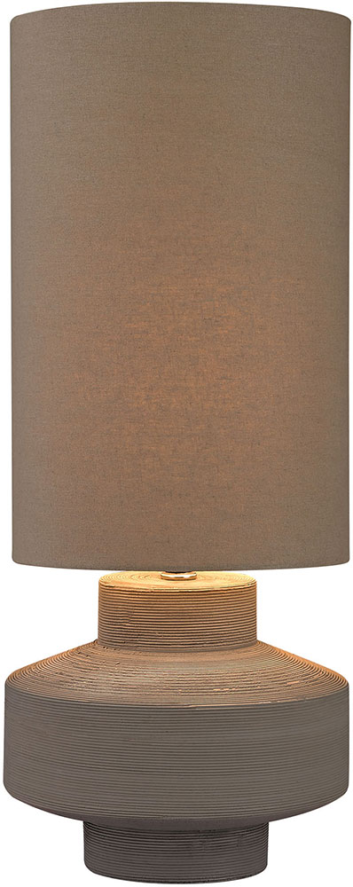 Dimond D2874 Modern Grey Clay Lighting Table Lamp. Loading Zoom