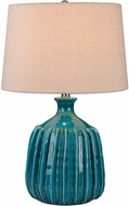 Dimond D2879-LED Contemporary Turquoise Glaze LED Table Lamp