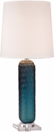 Dimond D2883-LED Contemporary Ocean Blue LED Side Table Lamp
