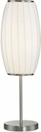 Dimond D2889 Modern Brushed Steel Side Table Lamp