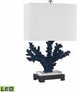 Dimond D3026-LED Cape Sable Navy Blue / Black LED Table Top Lamp