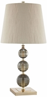 Dimond D3076 Collette Smoked Amber Gold Lighting Table Lamp