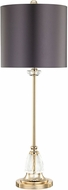 Dimond D3080 Constance Clear / Gold Plate Table Lighting