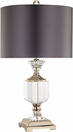 Dimond D3081 Highclere  Clear / Gold Table Lamp Lighting
