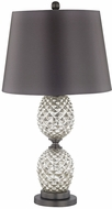 Dimond D3083 Halakahiki Antique Silver Mercury Pewter Table Lamp Lighting