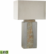 Dimond D3098-LED Musee� Grey / Natural Slate LED Exterior Side Table Lamp