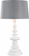 Dimond D3100G Corsage Gloss White Outdoor Table Lighting