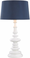 Dimond D3100N Corsage Gloss White Outdoor Table Lamp Lighting