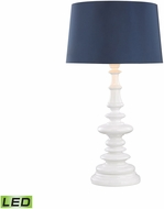 Dimond D3100N-LED Corsage Gloss White LED Exterior Table Top Lamp