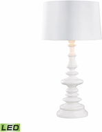 Dimond D3100W-LED Corsage Gloss White LED Exterior Table Lamp