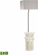 Dimond D3101-LED Patras Modern Antique White LED Exterior Lighting Floor Lamp