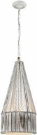 ELK Home D3106 Pennant Point  Contemporary Washed Wood Pendant Lamp
