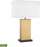 Dimond D3113-LED Summit Drive Antique Brass LED Table Lamp