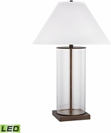 Dimond D3117-LED Park Slope Dunbrook / Clear LED Table Lamp Lighting