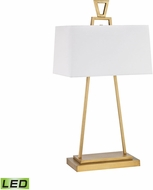 Dimond D3122-LED Hellenikon Modern Antique Brass LED Table Top Lamp