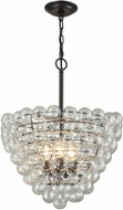 Dimond D3146 Cuvee Modern Oil Rubbed Bronze / Clear Hanging Pendant Lighting