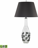 Dimond D3168-LED Confiserie  Clear / Grey LED Lighting Table Lamp