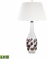 Dimond D3169-LED Confiserie  Clear / Garnet LED Table Top Lamp