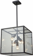 Dimond D3198 Cluster Box Modern Oil Rubbed Bronze Foyer Light Fixture