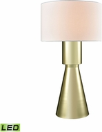 Dimond D3205-LED Paris Contemporary Gold Plate LED Side Table Lamp