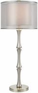 Dimond D3216 Palais Princier Satin Nickel Table Top Lamp