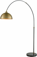 ELK Home D3226 Magnus Modern Oil Rubbed Bronze Aged Brass Arc Light Floor Lamp