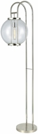 ELK Home D3263 Orboculum Contemporary Aged Pewter Floor Lamp Light