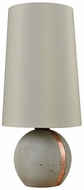 Dimond D3288 Jutland Polished Concrete Copper Exterior Table Lamp Lighting